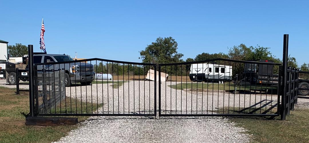 Double Bar Gate